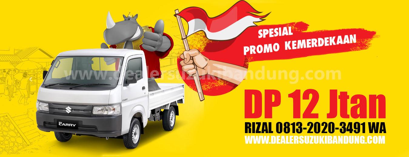 promo suzuki carry pickup bandung agustus 2019