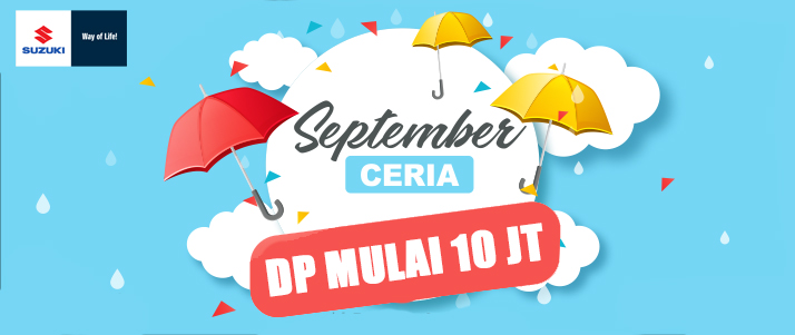 PROMO SUZUKI SEPTEMBER 2019